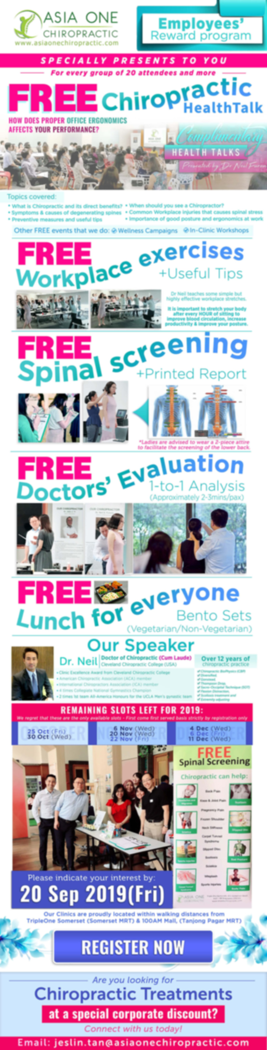 EDM - FREE Chiropractic HealthTalk - By