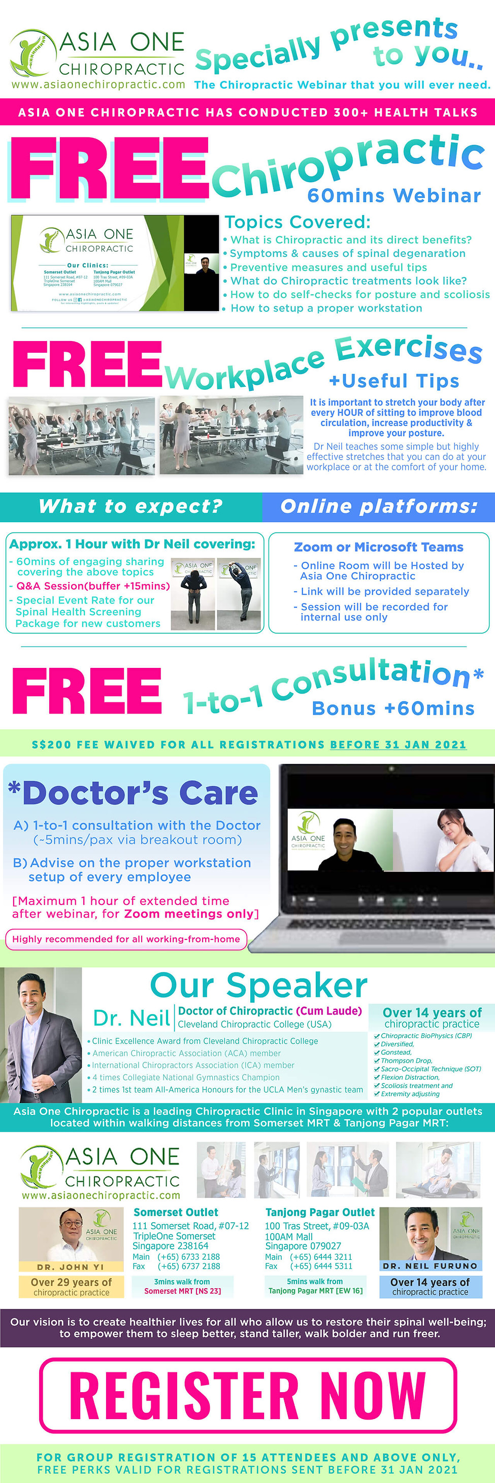 [By Invite only] FREE Chiropractic Webin