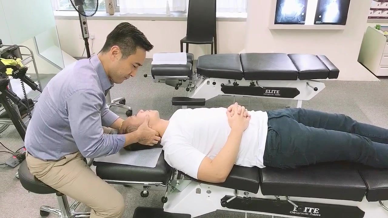 Supine Cervical Adjustment