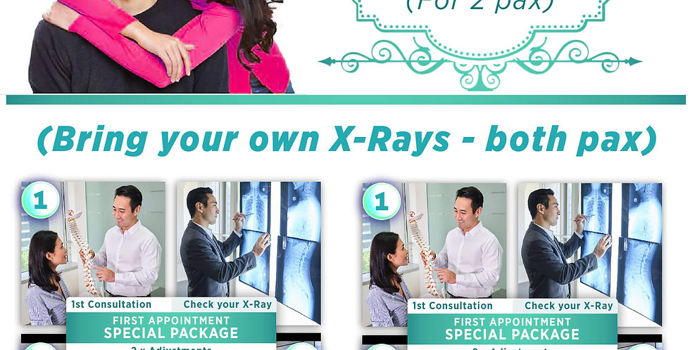 Spinal Health Screening Package - Deal B (For 2 pax)