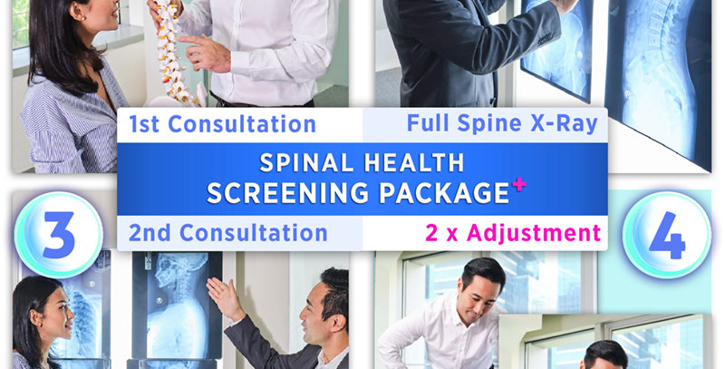 Spinal Health Screening Package+: Consultation+X-Ray+2xAdjustment [11.11]