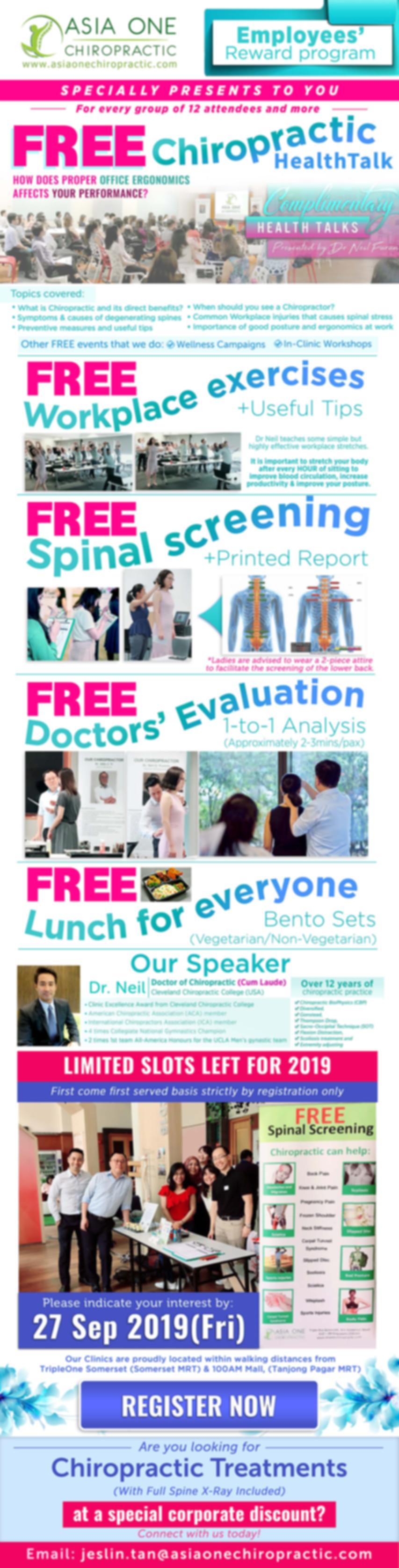 EDM - FREE Chiropractic HealthTalk - By