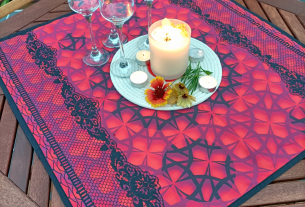 Table Centre Placemats - Roja