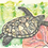 "Thumbnail: Original and Prints - ""Chelonia"" - Green Turtle"