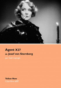 AGENT X27 (Josef von Sternberg)