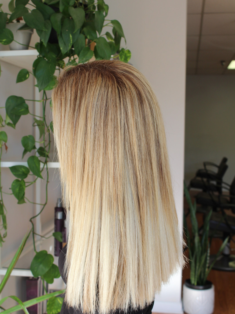Beaded Weft Extensions and Highlights