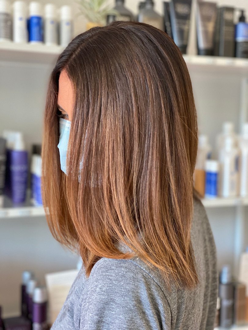 Root Touch Up, The Enhancer and Partial Balayage