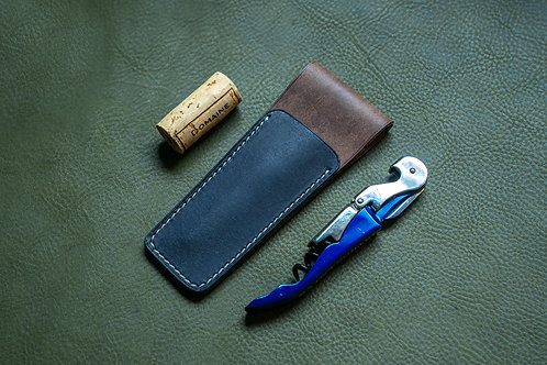 Leather Wine Key Holster