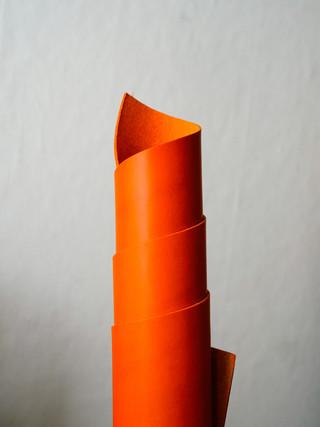 Orange Conceria Walpier Buttero