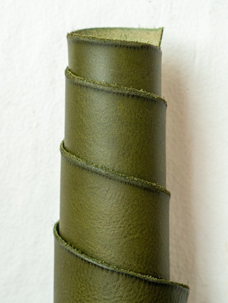 Olive Green-Minerva-Box-Leather