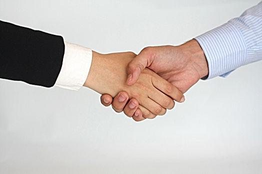 Hand Shake Confirmation