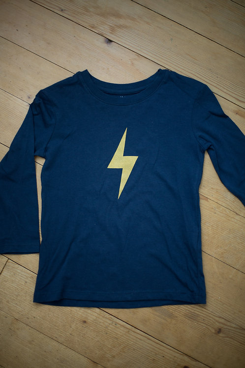 flash blue pull-over