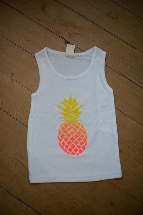 orange pineapple white top