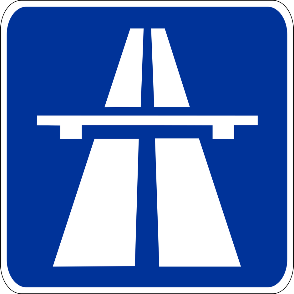 Motorway traffic jams