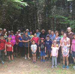 LUSH Trail-Opening Day