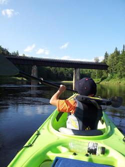 Never too young to kayak