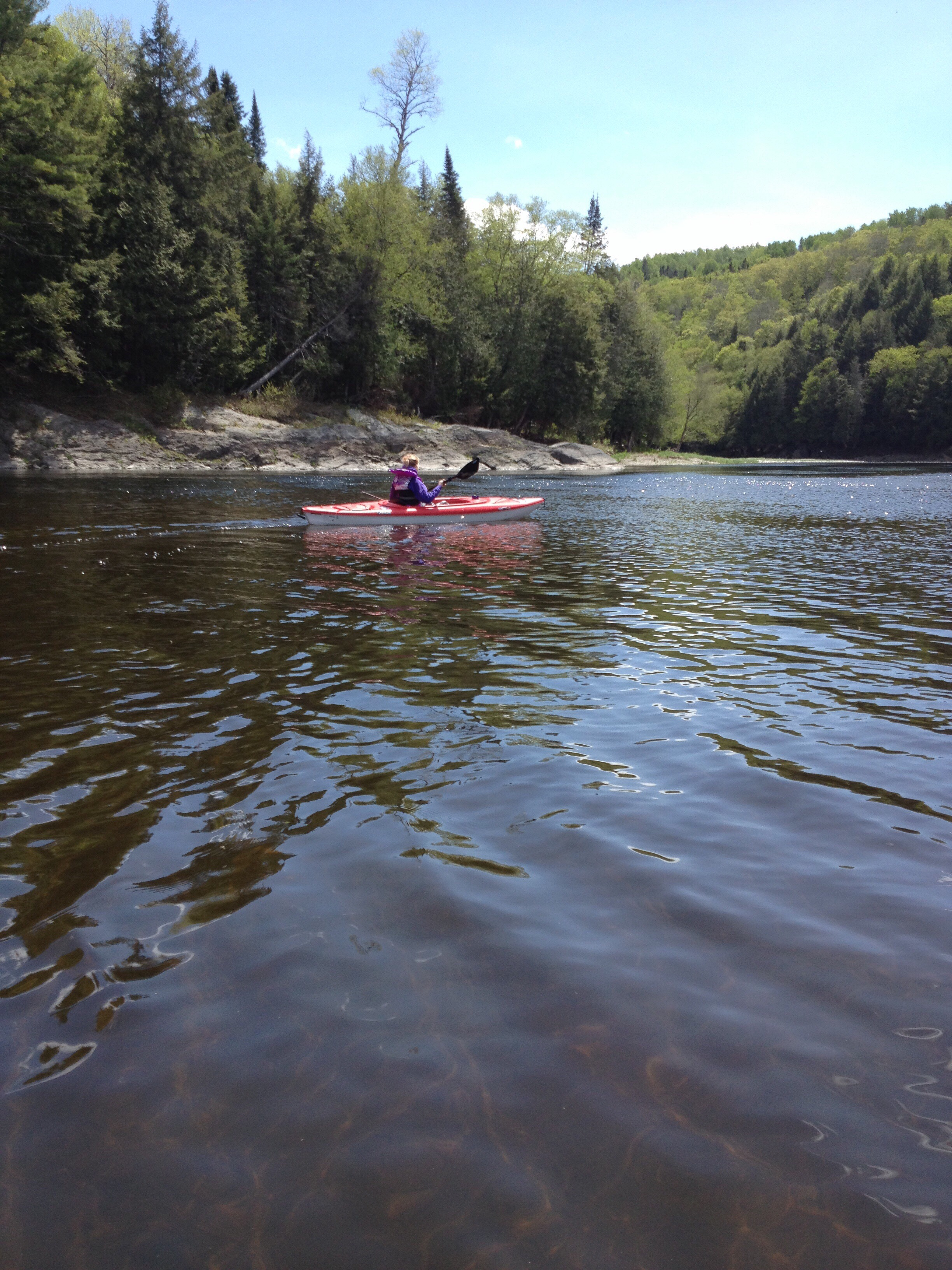 Kayaking on the Meduxnekeag