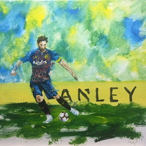 It's NOT a Messy Messi! Aargh!