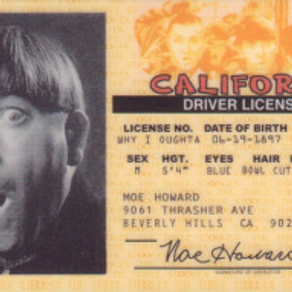~ Smile, You're on Driver's License Camera