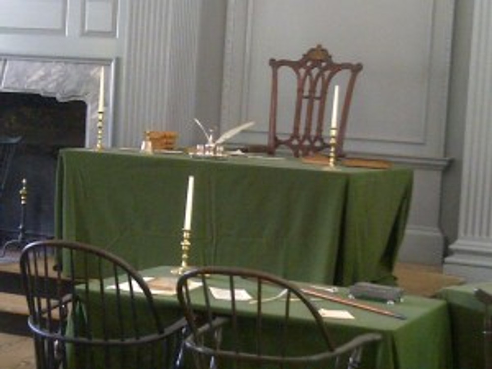 The Signing at Independence Hall