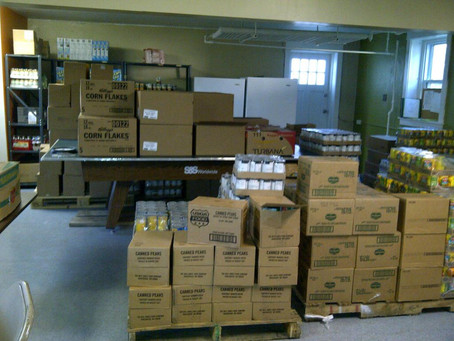 Our Pantry is Ready to Serve