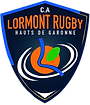 Logo CA Lormont Rugby