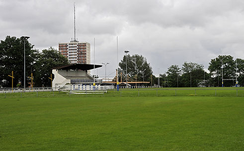 Stade entraînement féminines sayo honneur