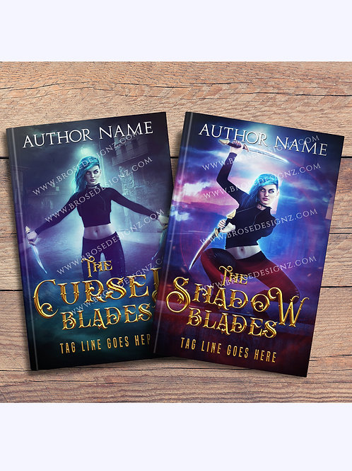 Blades 2 book covers Set