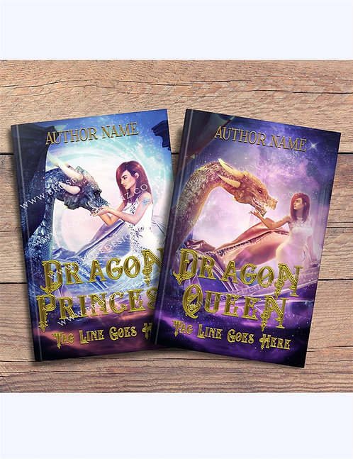Dragon Queen 2 book covers set