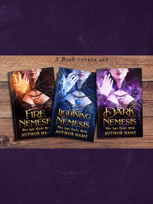 Nemesis  3 book covers Set