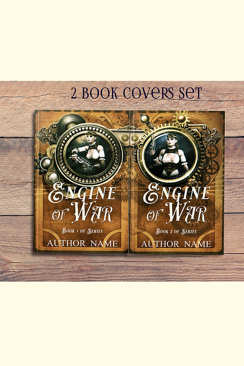 Engine of War 2 book covers set