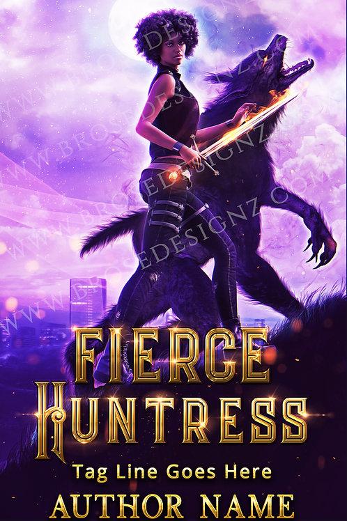 Fierce huntress