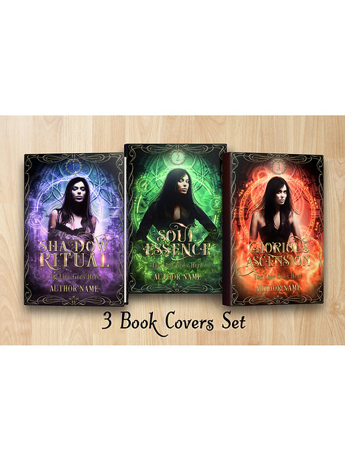 Fantasy book cover Set