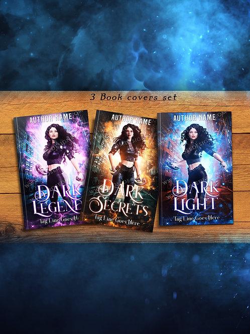 Dark -3 book covers Set