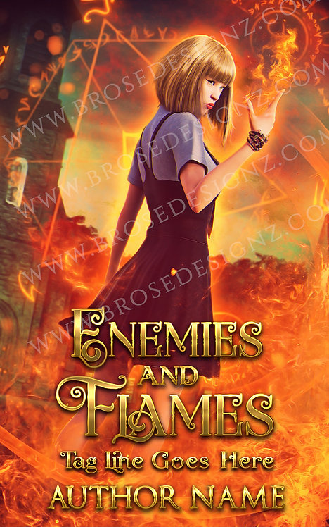 Enemies and flames