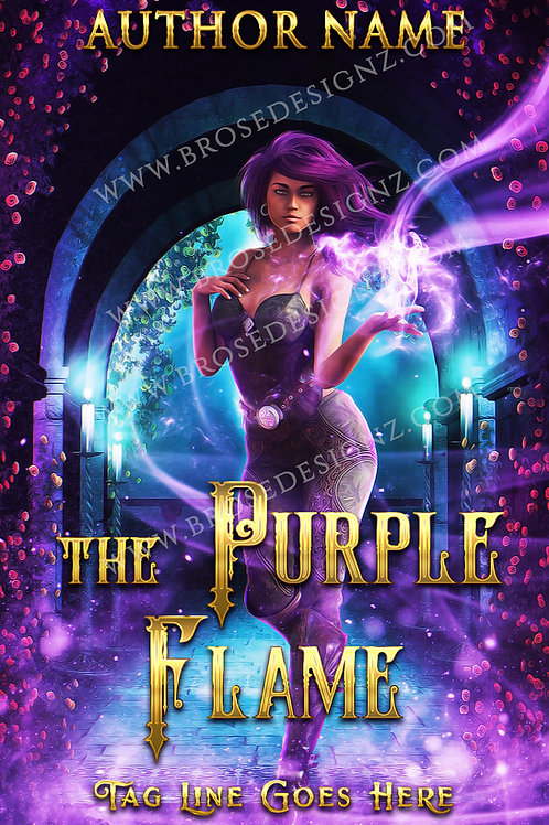 The purple flame