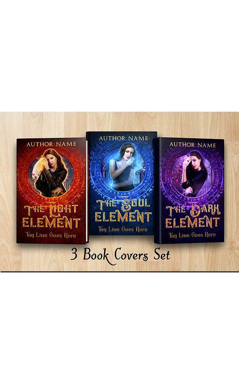 The element book cover Set