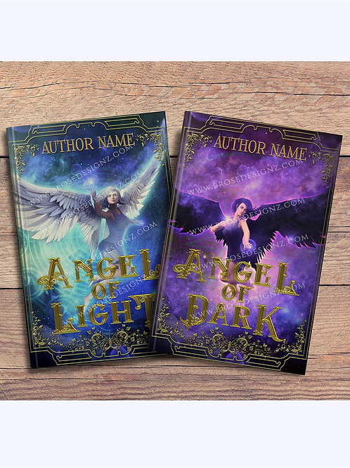 Angel 2 book covers set