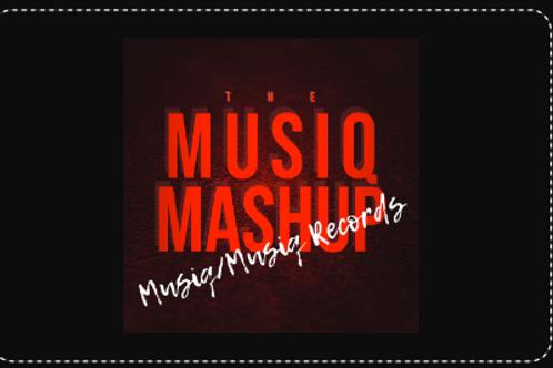 CD Digital Download Card - Musiq Mashup Various Artist