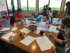 hArt. Art Therapy. Lymington Art Therapy. Wednesday wellbeing. Lymington. Drop in art sessions.