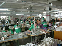 Customized apparel production in Hong Kong, China