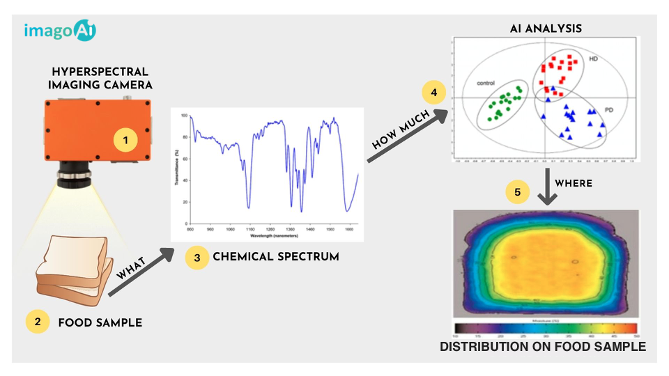 How hyperspectral imaging does real-time food safety & quality control