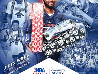 John Wall Earns October NBA Cares Community Assist Award