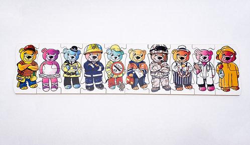 Teddy Workers Jigsaw