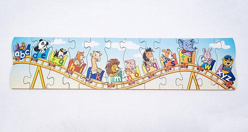 Rollercoaster Alphabet Jigsaw
