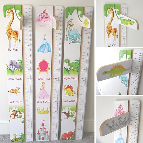 Wooden Height Charts