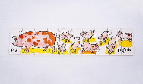 Pigs & Piglets Jigsaw