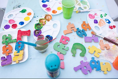 Personalised jigsaw crafts for children