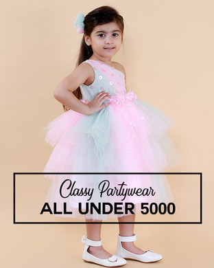 Girls Partywear Under 5000