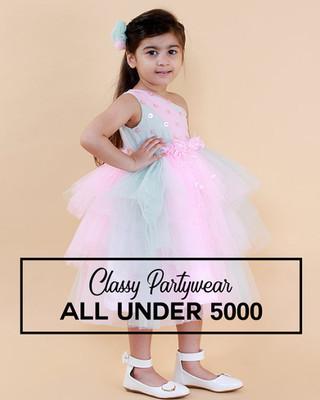 Girls Partywear Under 5000